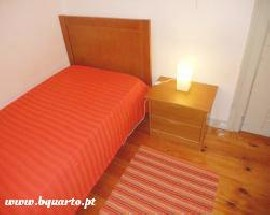 Quarto individual para alugar em Lisboa