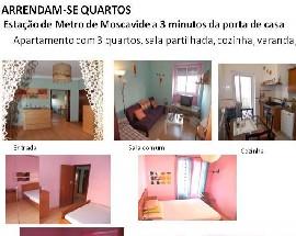 Alugo quartos em Lisboa Moscavide a 3 minutos do metro
