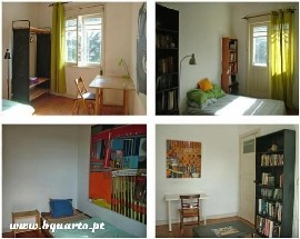 Rooms to rent in a big house full of space in Porto
