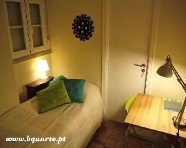 Alugo quarto com casa de banho privada em Lisboa IST