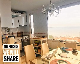 Renting the upper part of a duplex with a terrace view Tejo