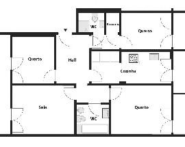 Casa com 4 assoalhadas na Estrada de Moscavide