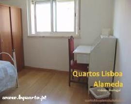 Alugo quartos em Lisboa