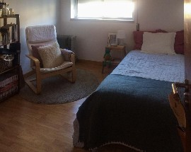 Quarto em apartamento T2 175 com recibo Coimbra Solum