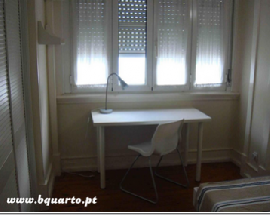 Quarto com wc privativo Saldanha Alameda