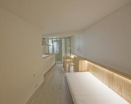 T0 Apartamento renovado em Lisboa