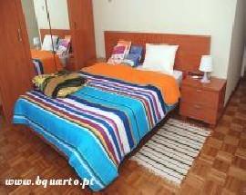 Quartos em apartamento equipado para estudantes em Braga