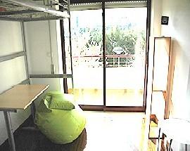 Excelente quarto soalheiro com varanda em condominio