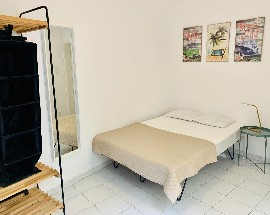 Refurbished bedroom in a well located apartment