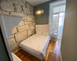 Quarto com wc privado no Porto centro